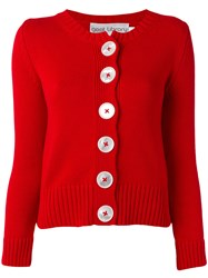 Goat Digby Cardigan Red