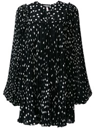 Stella Mccartney Polka Dot Dress Black