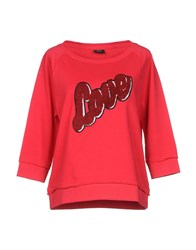 Only Sweatshirts Red