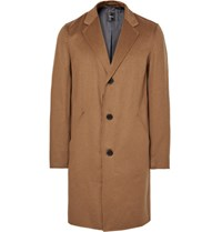 Theory Delancey Double Faced Cashmere Overcoat Light Brown