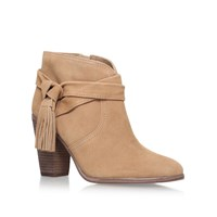 Vince Camuto Fianna High Heel Ankle Boots Beige