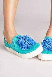 Seychelles One For The Books Pommed Sneakers Turquoise