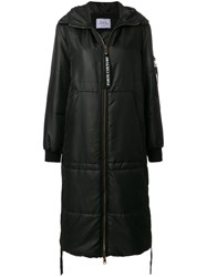 Forte Couture Oversized Parka Black