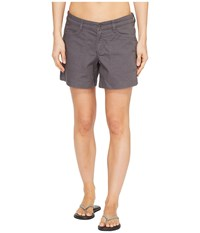 The North Face Boulder Stretch Shorts Graphite Grey Women's Shorts Gray