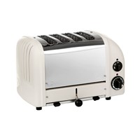 Dualit Classic Toaster Canvas White 4 Slot