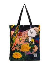 Herschel Supply Co. Charlie Brown Floral Print Tote 108 108 Multicoloured