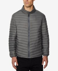 32 Degrees Men's Light Thin Packable Bomber Jacket A Macy's Exclusive Asphalt Me