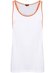 Unconditional Contrast Trim Vest White
