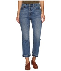 Free People Cropped Boot Jeans In Blue Blue Women's Jeans