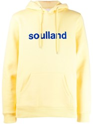 Soulland Logic Googie Hoodie Yellow