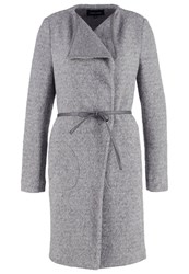 More And More Classic Coat Grey Melange