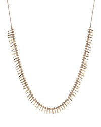 Kismet By Milka Seed Intensive Tassel Necklace In 14K Rose Gold