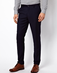 Vito Suit Trousers In Navy
