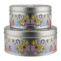 Alessi Garybaldi Tin Set Of 2