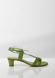 Martiniano Pavone Sandals Apple Green