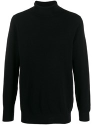Circolo 1901 Roll Neck Jumper Black