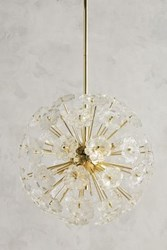 Anthropologie Flowerburst Pendant Bronze