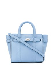 Mulberry Mini Bayswater Tote Bag Blue