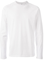 Aspesi Crew Neck Sweatshirt White