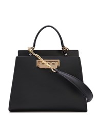 Zac Posen Earthette Small Tote Bag Black