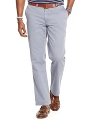 Polo Ralph Lauren Men's Big And Tall Classic Fit Flat Front Chino Pants Navy