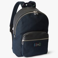 Paul Smith Ps By Canvas Backpack Black