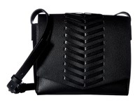 French Connection Emory Crossbody Flap Black Cross Body Handbags