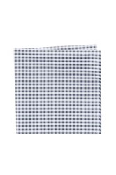 Jack Spade Ernest Gingham Pocket Square Gray