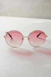 Anthropologie Sonix Oasis Sunglasses Pink
