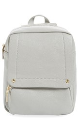 Girly Faux Leather Flap Mini Backpack