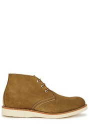 Red Wing Shoes Olive Suede Chukka Boots