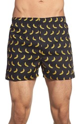 Men's The Rail 'Bananas' Print Woven Cotton Boxers 3 For 25