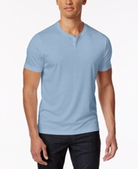 Alfani Men's Soft Touch Stretch Henley Created For Macy's Croquis
