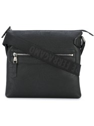 Salvatore Ferragamo 'Varenne' Shoulder Bag Black