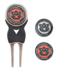 Team Golf Auburn Tigers Divot Tool And Markers Set Team Color
