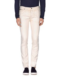 Just Cavalli Denim Denim Trousers Men Beige