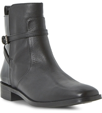 Bertie Pelli Leather Boots Black Leather