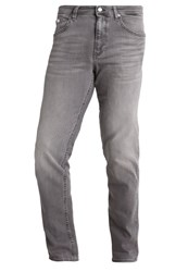 Hugo Boss Green Delaware Straight Leg Jeans Grey