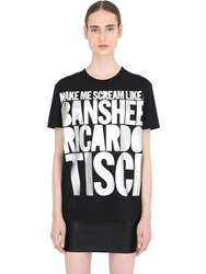 House Of Holland Ricardo Tisci Cotton Jersey T Shirt