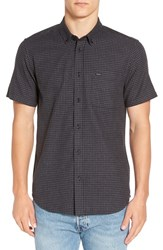 Rvca Men's 'That'll Do' Trim Fit Woven Shirt Pirate Black
