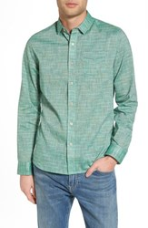 Descendant Of Thieves Space Plaid Sport Shirt Green Bay