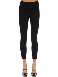 J Brand Alana High Rise Skinny Denim Jeans Black