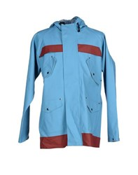 Elka Coats And Jackets Full Length Jackets Men Turquoise