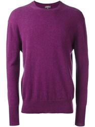 N.Peal 'The Oxford' Pullover Pink And Purple