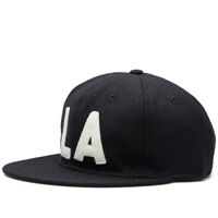 Ebbets Field Flannels Los Angeles Angels 1954 Cap Black Wool