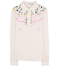 Coach Embellished Shirt White