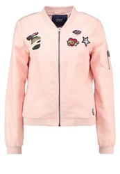 Only Onllinea Bomber Jacket Peachy Keen Rose