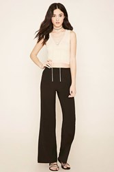 Forever 21 Textured Wide Leg Pants