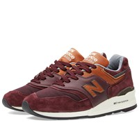 New Balance M997dslr Made In The Usa 'Ski Pack' Burgundy
