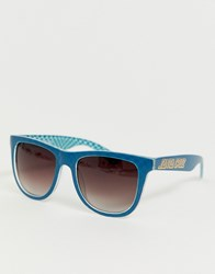Santa Cruz Fisheye Sunglasses In Blue